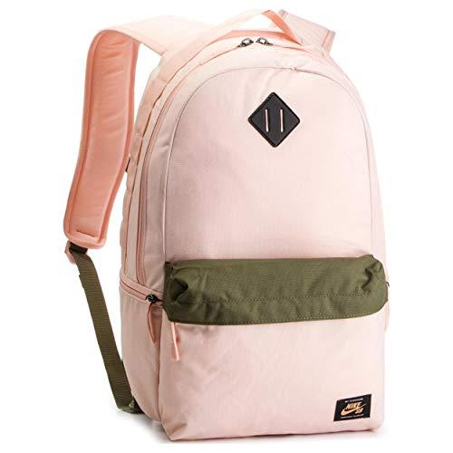 Nike Men's SB Icon Backpack, Washed Coral/Medium Olive/Fuel Orange, MISC