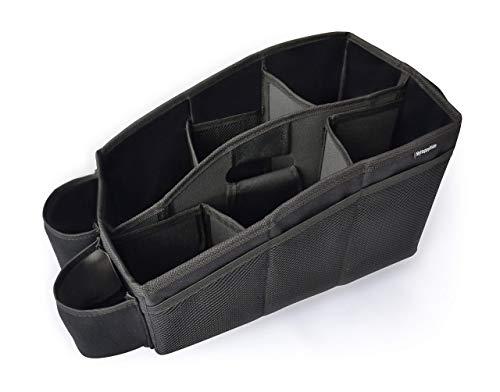 MyHappyRide Auto Organizer, Utensilientasche für den Autositz mit 2 Befestigungsmöglichkeiten, wasserabweisende Rücksitztasche, Rücksitz-Spielzeugtasche, Sitz-Tasche für Spielzeug für die Rückbank