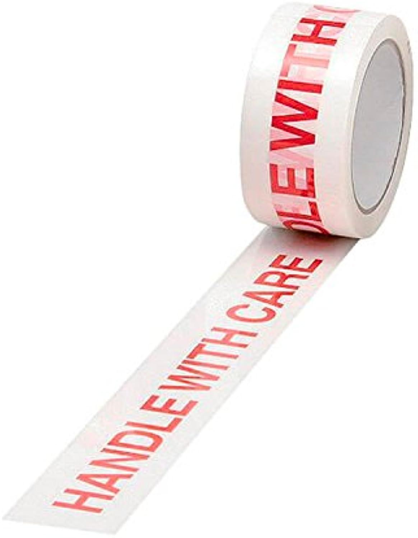 5 5 5 Star Office Tape Gedruckt Griff mit Care Polypropylen (50 mm x 66 m) rot auf weiß (6 Stück) B07DTJ98KD | Verschiedene Stile und Stile  3932c5