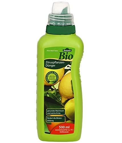 Dehner Bio Zitruspflanzen-Dünger, flüssig, 500 ml, für ca. 75 l