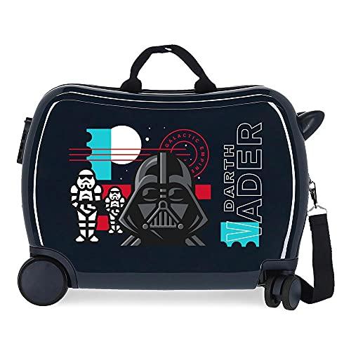 Star Wars Galactic Empire Maleta Infantil Azul 50x38x20 cms Rígida ABS Cierre de combinación lateral 34L 1,8 kgs 4 Ruedas Equipaje de Mano