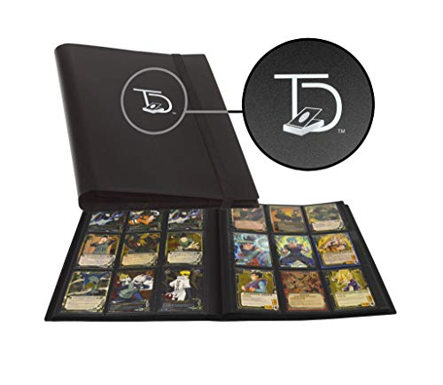 TopDeck 500 Card Pocket Folder Pro | 9 Pocket Trading Cards Album | Side Load Sleeves | Pokemon/MTG/Yugioh/TCG Folder | Trading & Sports Holder |