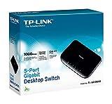TP-LINK TL-SG1005D switch - Switch de red (No administrado, Gigabit Ethernet (10/100/1000), IEEE 802.3, IEEE 802.3ab, IEEE 802.3u, IEEE 802.3x, 10/100/1000 Mbit/s, 16 Gbit/s, 1 Gbit/s)