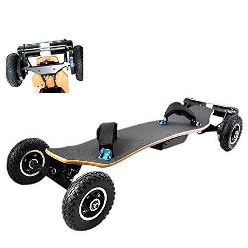 iENYRID Electric Skateboard Offroad for Adults, Cross Country Mountainboard with Remote | Top Speed 28 MPH | Max Load 440 Lbs | 3300W Dual Motors