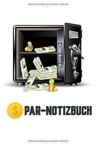 Spar Notizbuch | offener Tresor | mit Saving Tracker für deine Sparziele | Monatsübersicht für eingespartes Geld | perfekt für alle die auf etwas ganz gezielt sparen möchten