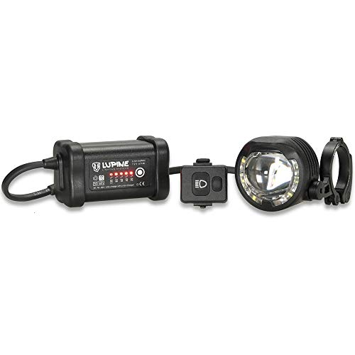 Lupine SL AF7 StVZO Fahrradlampe 1000/1300 Lumen mit 6.9Ah SmartCore Akku und 25.4 mm Schnellspanner