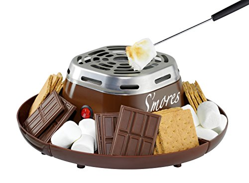 Nostalgia SMM200 Indoor Electric Stainless Steel S'mores...