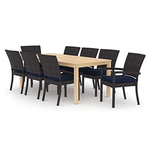 RST Brands Deco/Kooper 9pc Dining Set - Navy Blue