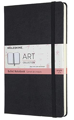 ART BULLET NOTEBOOK LARGE BLACK