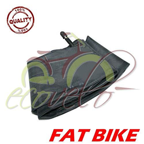 Ecovelò - Cámara de aire 20 x 4.0/4.9 Fat Bike válvula americana Schrader rueda neumático bicicleta MTB