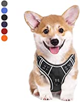HEELE Dog Harness No Pull Dog Vest Harness Adjustable Outdoor Reflective Oxford Puppy Harness Easy Control Harness for...
