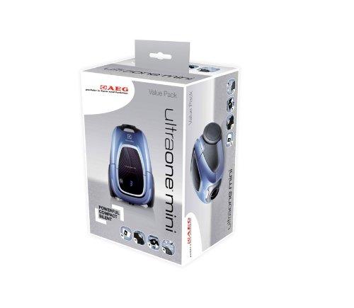 AEG 900167019 Value Pack Gr 01 VP / 4 Synthetik Staubbeutel, 1 HEPA-13-Filter, 1 Motorfilter, 1 S-Fresh lemon für Ultra One Mini
