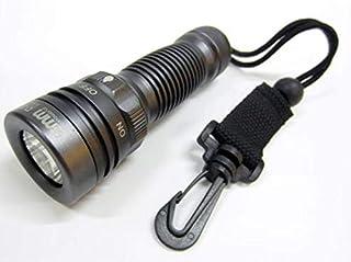 مصباح LED Cree Q5 LED سكوبا الغوص مقاوم للماء SOS 250 لومن 100 متر