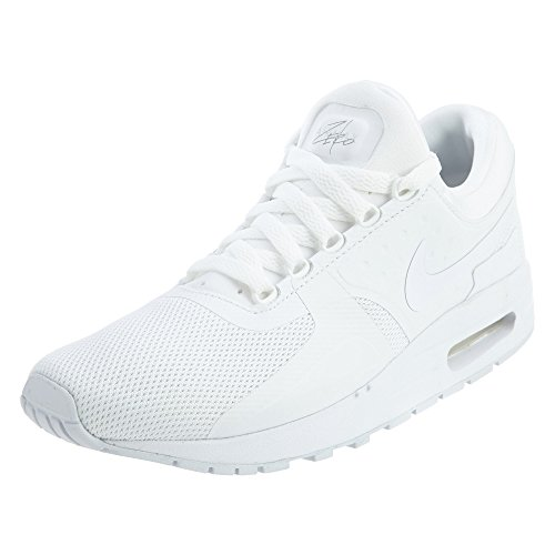 Nike Air Max Zero Essential GS, Scarpe da Trail Running Bambino, Bianco (White/White/Wolf Grey/Pure Platinum 100), 36.5 EU