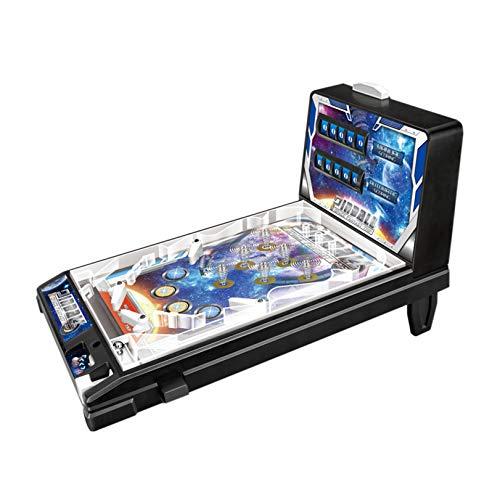 HRXQ Mini Pinball Toy Mini Máquina De Pinball De Mesa Juguete para Niños Juego De Pinball Máquina Pequeña Máquina De Pinball Rompecabezas para Padres E Hijos