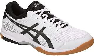 ASICS Men's Gel-Rocket 8 White Badminton Shoes-6 UK/India (40 EU)(7 US) (B706Y-0190)