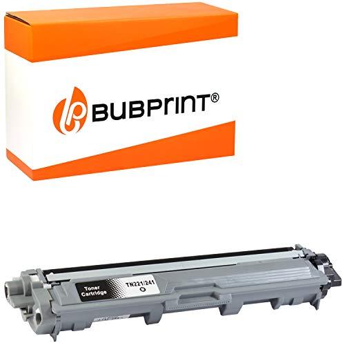 Bubprint Kompatibel Toner als Ersatz für Brother TN-241BK TN-245BK für DCP-9015CDW DCP-9020CDW HL-3140CW HL-3150CDW HL-3170CDW MFC-9130CW MFC-9140CDN MFC-9330CDW MFC-9340CDW Schwarz