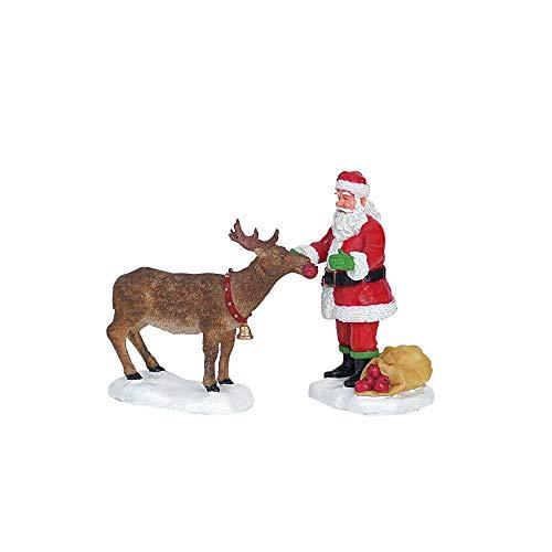 Lemax Reindeer Treats Set of 2 Christmas Collection