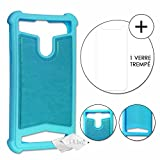Super Pack for Archos Oxygen 63 Rear Case with Silicone Gel