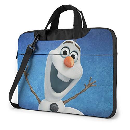 Fro-Zen Shakeproof Waterproof Laptop Messenger Shoulder Bag Case Sleeve Briefcase with Adjustable Shoulder Strap for 13 Inch 14 Inch 15.6 Inch