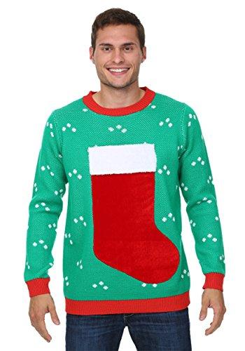 3D Christmas Stocking Ugly Christmas Sweater