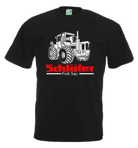 Schlüter Profitrac T-Shirt, Größe L, schwarz