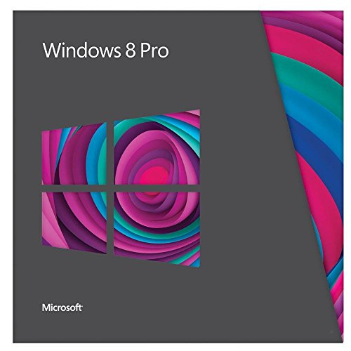 Microsoft Windows 8 Pro 32/64bit, UPG, DVD, FRE - Sistemas operativos (UPG, DVD, FRE, Actualizasr, 20 GB, 2 GB, 1 GHz)