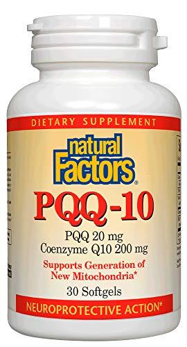 自然因素,PQQ-10,支持能量和健康老化,膳食补充剂,30粒软胶囊(30份)