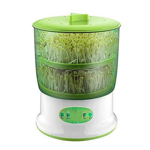 Sprouter automática Haba creciente máquina de gran capacidad de la planta de semillero que brota Herramientas (2 Layer)