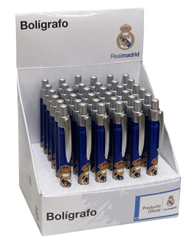 Real Madrid- BOLÍGRAFO Basic Accesorios, Color (Multicolor) (CYP BP-20-RM)