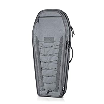 Savior Equipment The Coffin T.G.B 30  34  Discreet Tactical Rifle Soft Case Firearm Carrier Shoulder Sling Pack Padded Bug-Out Bag for Concealed Carry - Low Profile MOLLE Panel Hook-N-Loop Webbing