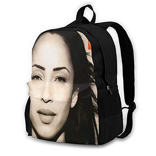 Sade The Best of Sade Backpack Lightweight Laptop Backpack Multi-Function School Bookbag Travel Hiking Daypack