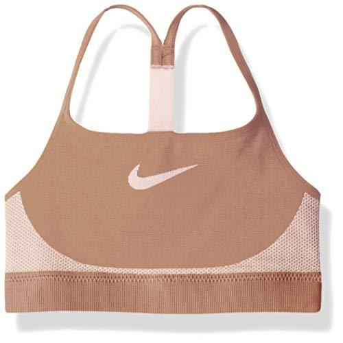 Nike Mädchen Seamless BH, Rose Gold/Pink Foam, L