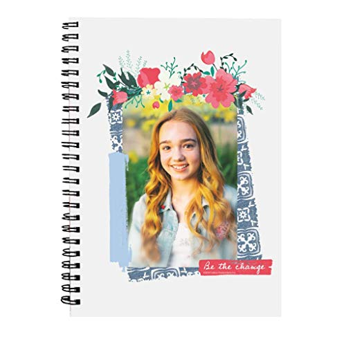 Holly Hobbie Be The Change Floral Border Spiral Notebook