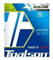 TOALSON(トアルソン) テニスストリング HD ASTER POLY 125 ブラック 硬式ガット 7472510K