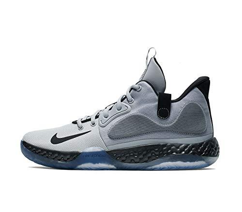 Nike Men's KD Trey 5 VII Basketball Shoes (Wolf Grey/Black-White, 10)