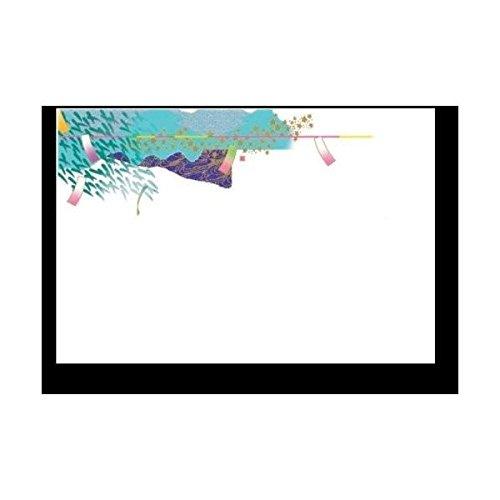 ヤマコー 尺3無蛍光紙四季彩まっと花友禅100枚入 文月(ふみづき・7月)
