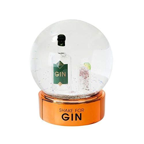 Schneekugel für Gin-Liebhaber, 12,7 cm