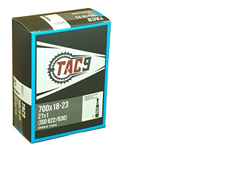 TAC 9 1 Tube, 700c x 18-23 PV 32mm Presta Valve, Bicycle Inner Tube