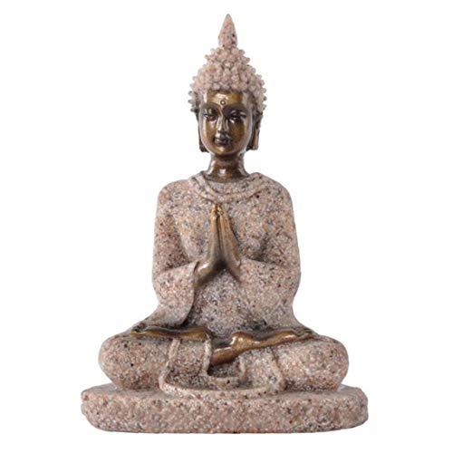 Escultura Decoración Meditación Estatua De Buda Hecha a Ma