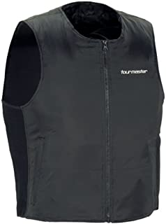 Tour Master Synergy 2.0 Men's Heated Liner Sports Bike Racing Motorcycle Vest - Black/Small