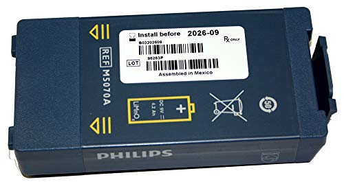 Langzeitbatterie AED Defibrillator Philips Modell HS1 & FRx M5070A