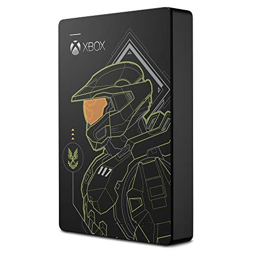 Seagate Game Drive for Xbox Halo Edition - Master Chief Unidad HDD Externa portátil LE de 5 TB - USB 3.2 Gen 1 diseñada para Xbox One, Xbox Series X/S, 2 años servicios Rescue (STEA5000406)