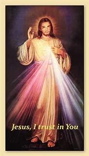 Jesus, I trust in You, prayer card (10-pack)