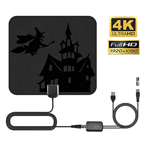 Ghopy Halloween Deko TV-Antenne, für den Innenbereich, stärkerer Empfang