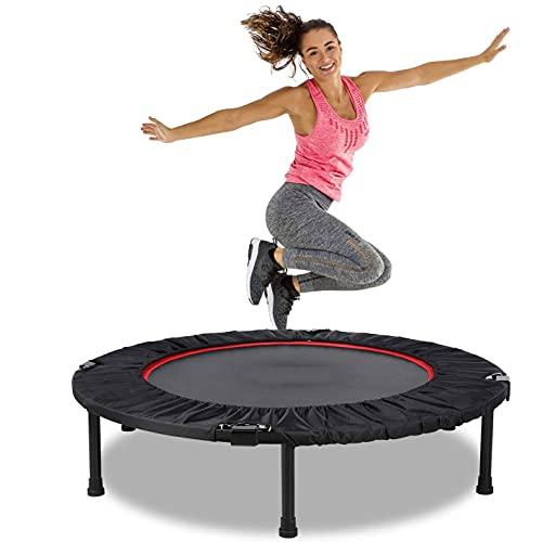 Mini Cama Elástica, Trampolín Fitness Jump 4 Fun Plegable, Cama Elastica Cama...