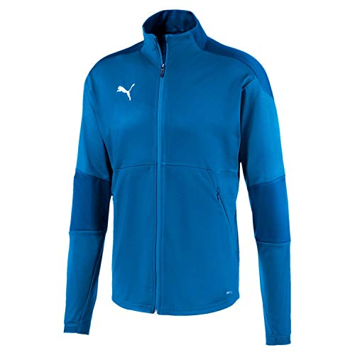 PUMA Herren Trainingsjacke teamFINAL 21 Training Jacket, Electric Blue Lemonade/Team Power Blue, M, 656473