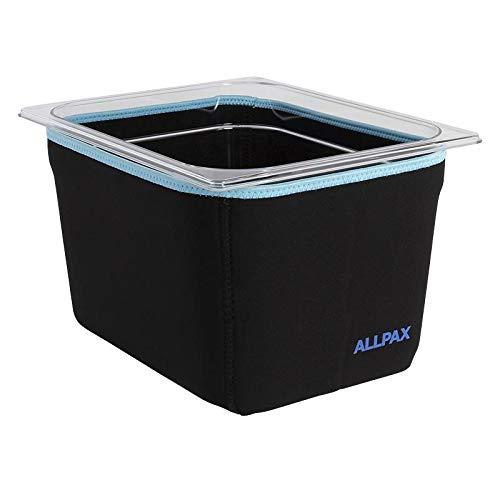 Sous Vide Bad Isolierung von Allpax für GN Behälter 2/3 - Neopren Isolierung/Überzieher für GN Behälter - Kein Wärmeverlust mehr