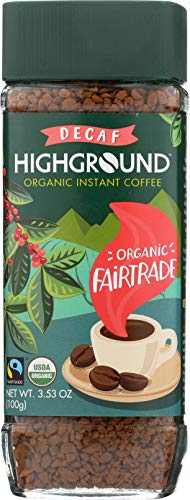 Highground Organic Instant Decaf Coffee