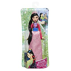 Doll features a shimmering gown in her signature colour Gown has ideal design that sparkles and shines Skirt is removable Collect all 11 dolls (each sold separately)